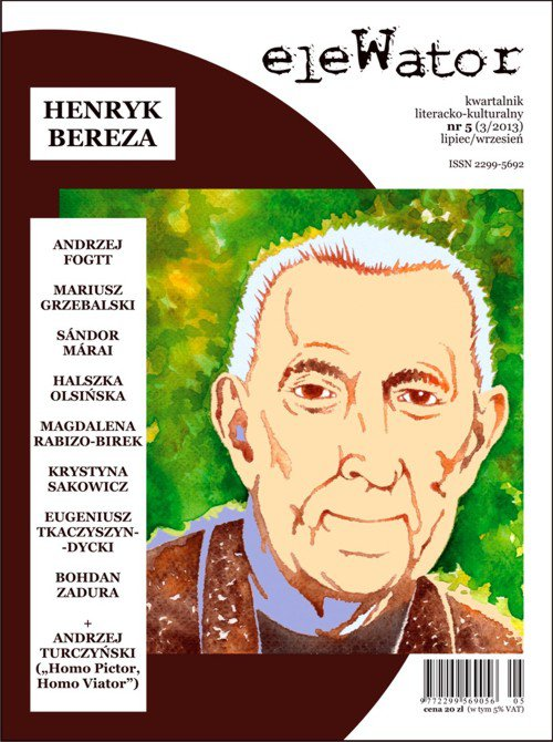 eleWator 5 (3/2013) - Henryk Bereza - Ebook (Książka PDF) do pobrania w formacie PDF