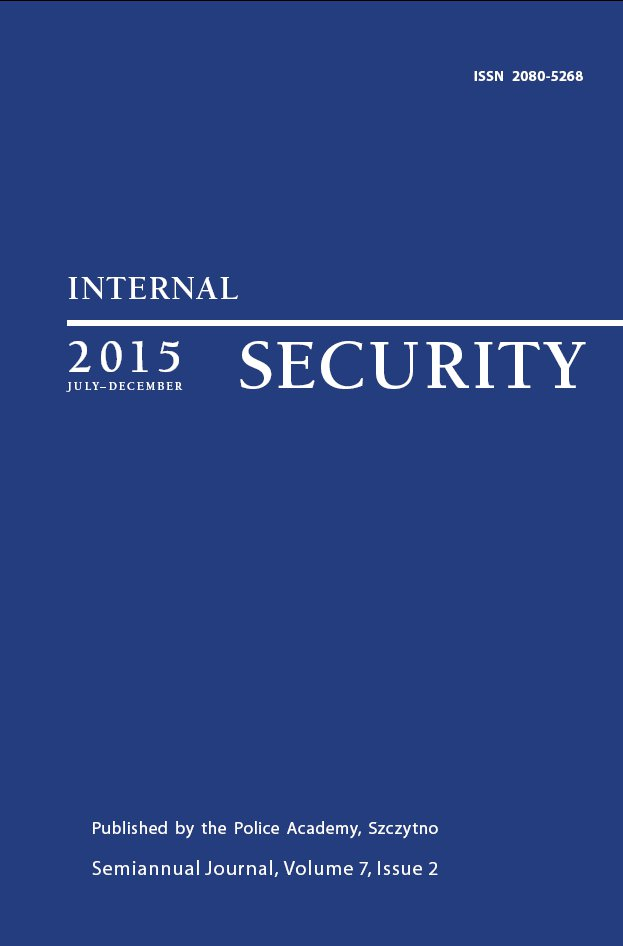 Internal Security Vol. 7/1/2015 - Ebook (Książka PDF) do pobrania w formacie PDF