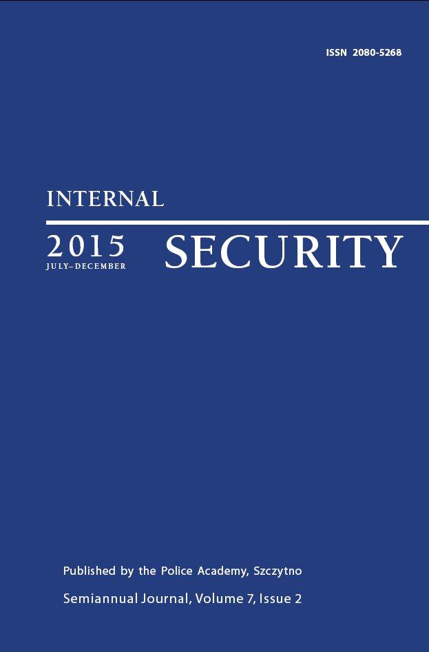 Internal Security Vol. 7/1/2015 - Ebook (Książka PDF) do pobrania w formacie PDF