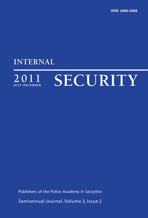Internal Security, July-December 2011 - Ebook (Książka PDF) do pobrania w formacie PDF