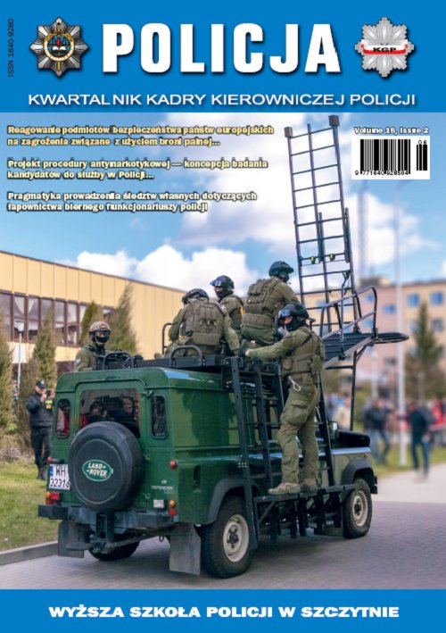 Policja 2/2015 - Ebook (Książka PDF) do pobrania w formacie PDF