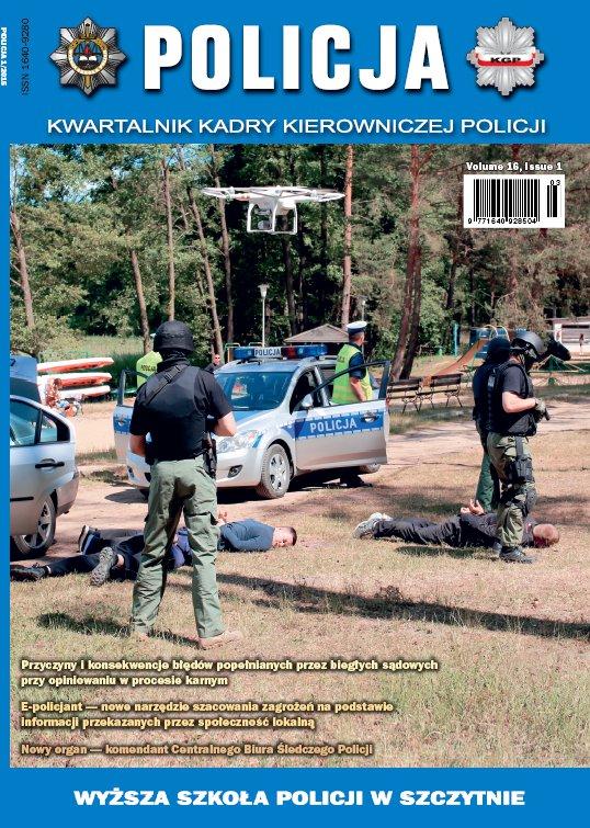 Policja nr 1/2015 - Ebook (Książka PDF) do pobrania w formacie PDF