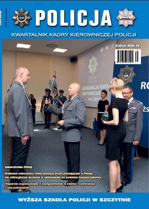 Policja nr 4/2014 - Ebook (Książka PDF) do pobrania w formacie PDF