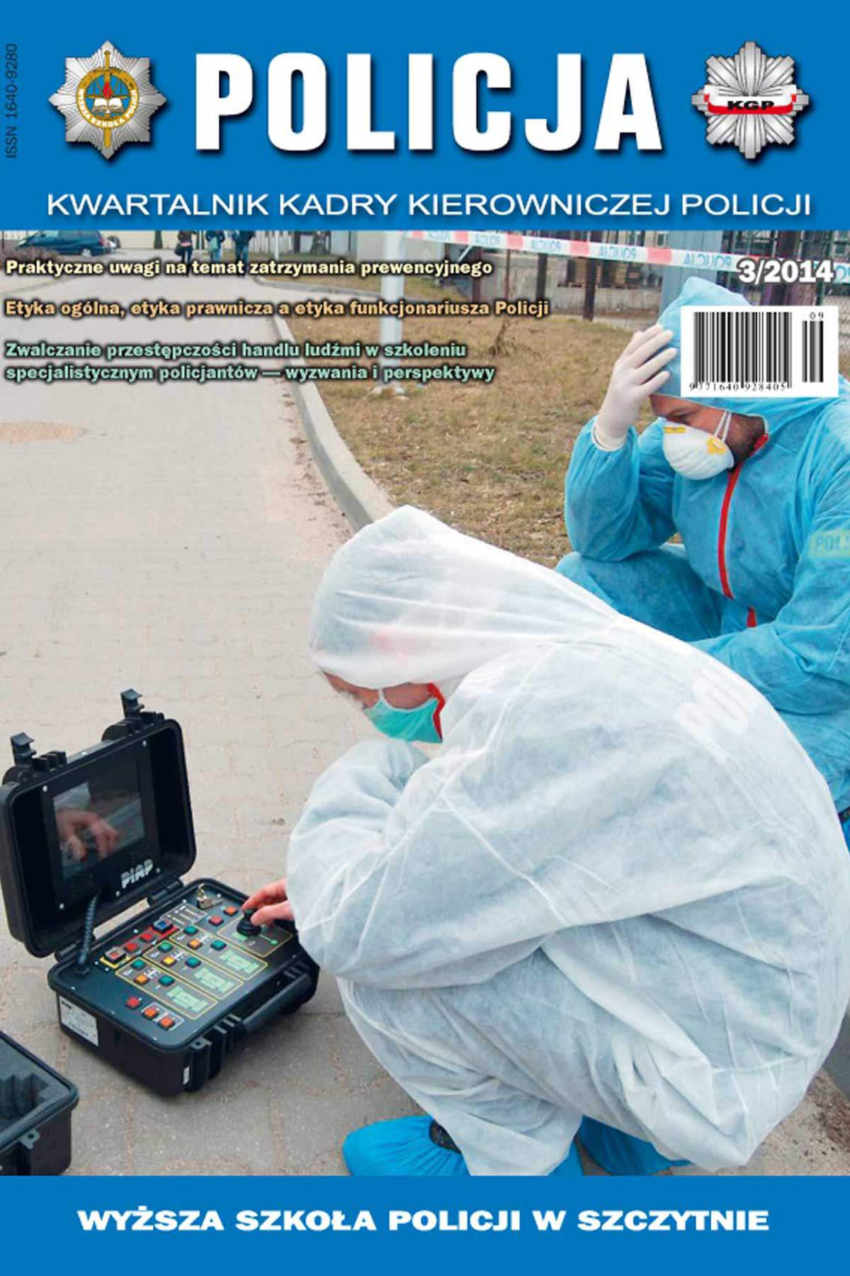 Policja, nr 3/2014 - Ebook (Książka PDF) do pobrania w formacie PDF