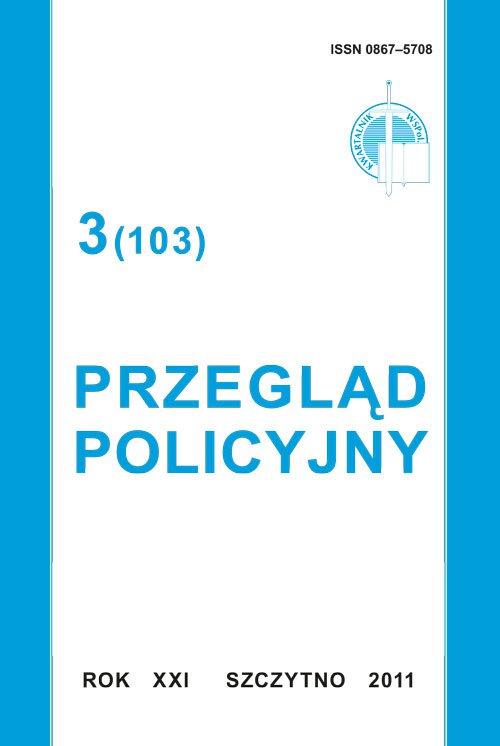 Przegląd  Policyjny, nr 3(103) 2011 - Ebook (Książka PDF) do pobrania w formacie PDF