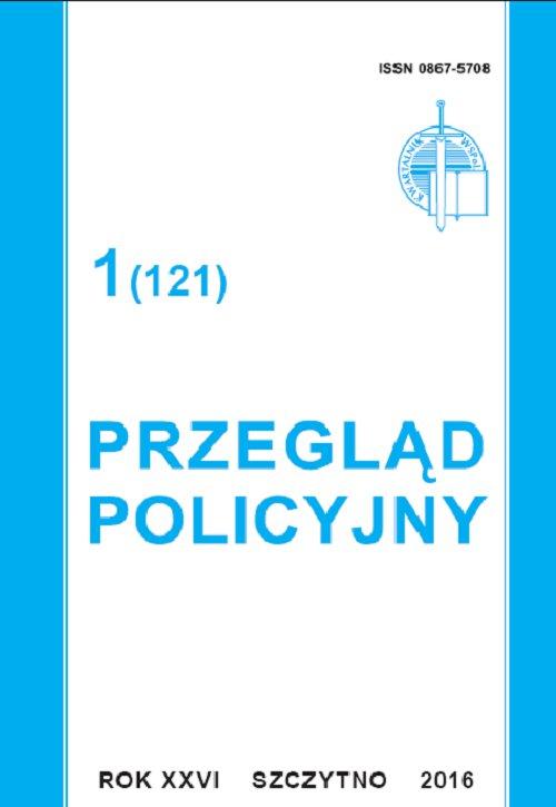 Przegląd Policyjny 1 (121)/2016 - Ebook (Książka PDF) do pobrania w formacie PDF