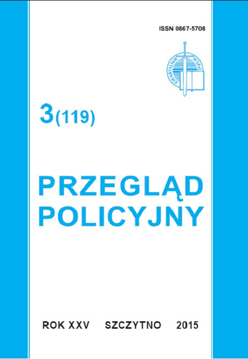 Przegląd Policyjny 3 (119)/2015 - Ebook (Książka PDF) do pobrania w formacie PDF