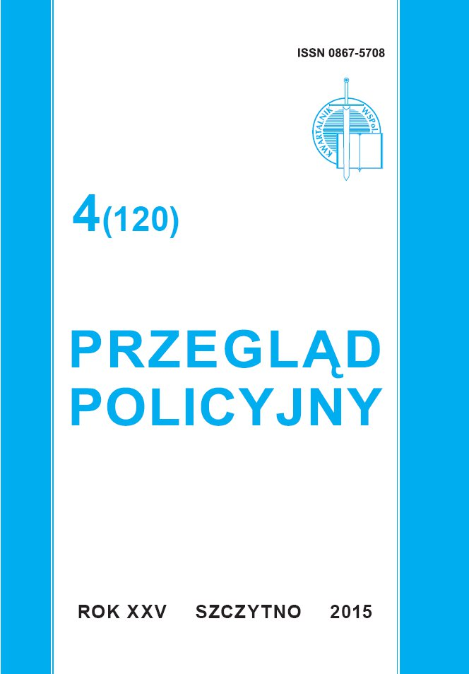 Przegląd Policyjny 4 (120)/2015 - Ebook (Książka PDF) do pobrania w formacie PDF