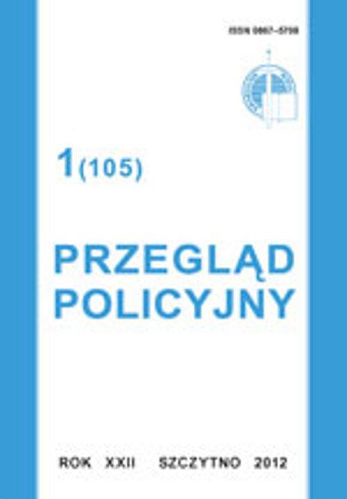 Przegląd Policyjny, nr 1(105) 2012 - Ebook (Książka PDF) do pobrania w formacie PDF