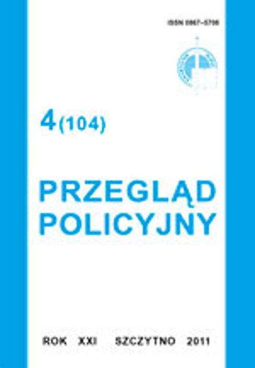 Przegląd Policyjny, nr 4(104) 2011 - Ebook (Książka PDF) do pobrania w formacie PDF