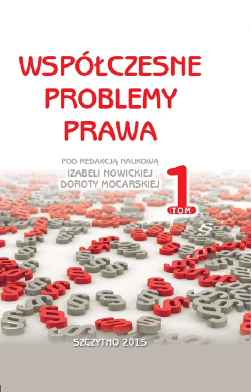 Współczesne problemy prawa. Tom I - Ebook (Książka PDF) do pobrania w formacie PDF