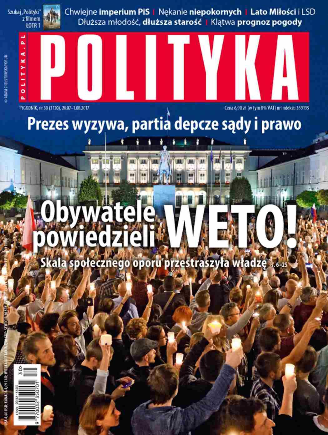 Polityka nr 30/2017 - Ebook (Książka PDF) do pobrania w formacie PDF