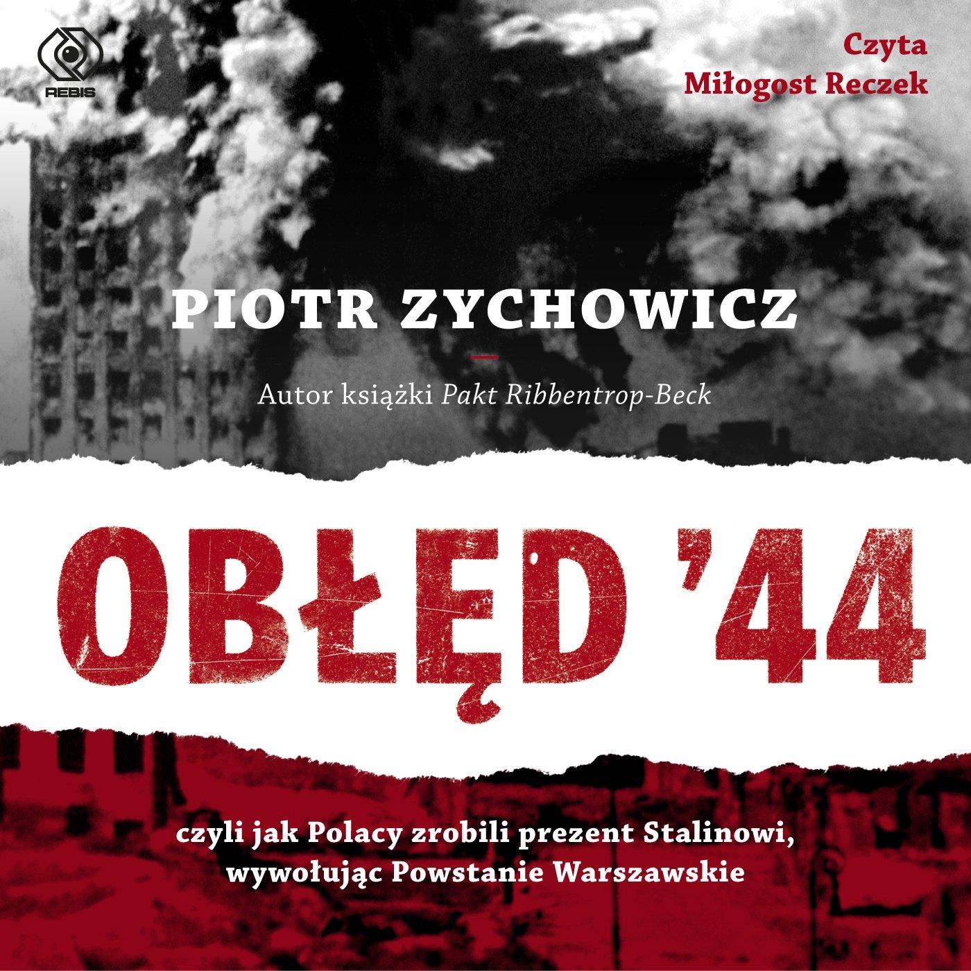 Obłęd '44 - Audiobook (Książka audio MP3) do pobrania w całości w archiwum ZIP