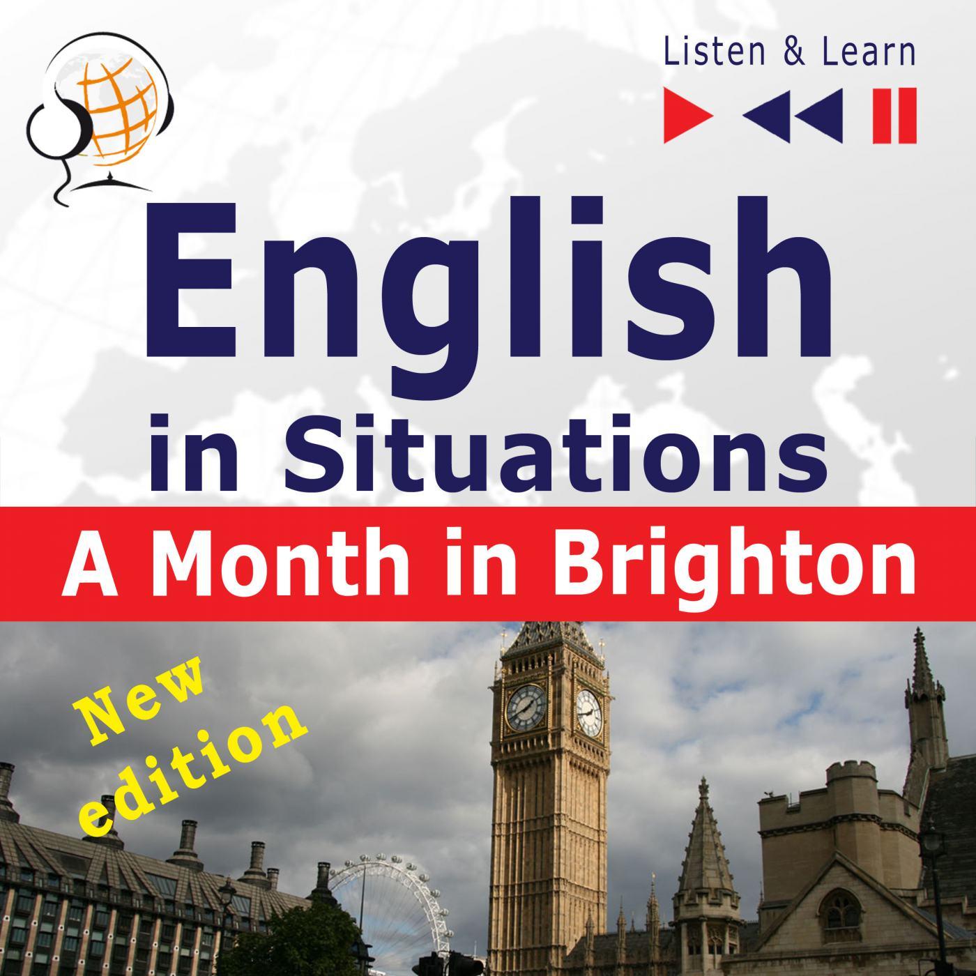 English in Situations. A Month in Brighton – New Edition - Audiobook (Książka audio MP3) do pobrania w całości w archiwum ZIP