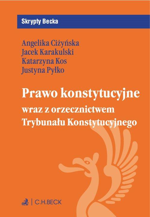 Prawo konstytucyjne wraz z orzecznictwem Trybunału Konstytucyjnego - Ebook (Książka PDF) do pobrania w formacie PDF