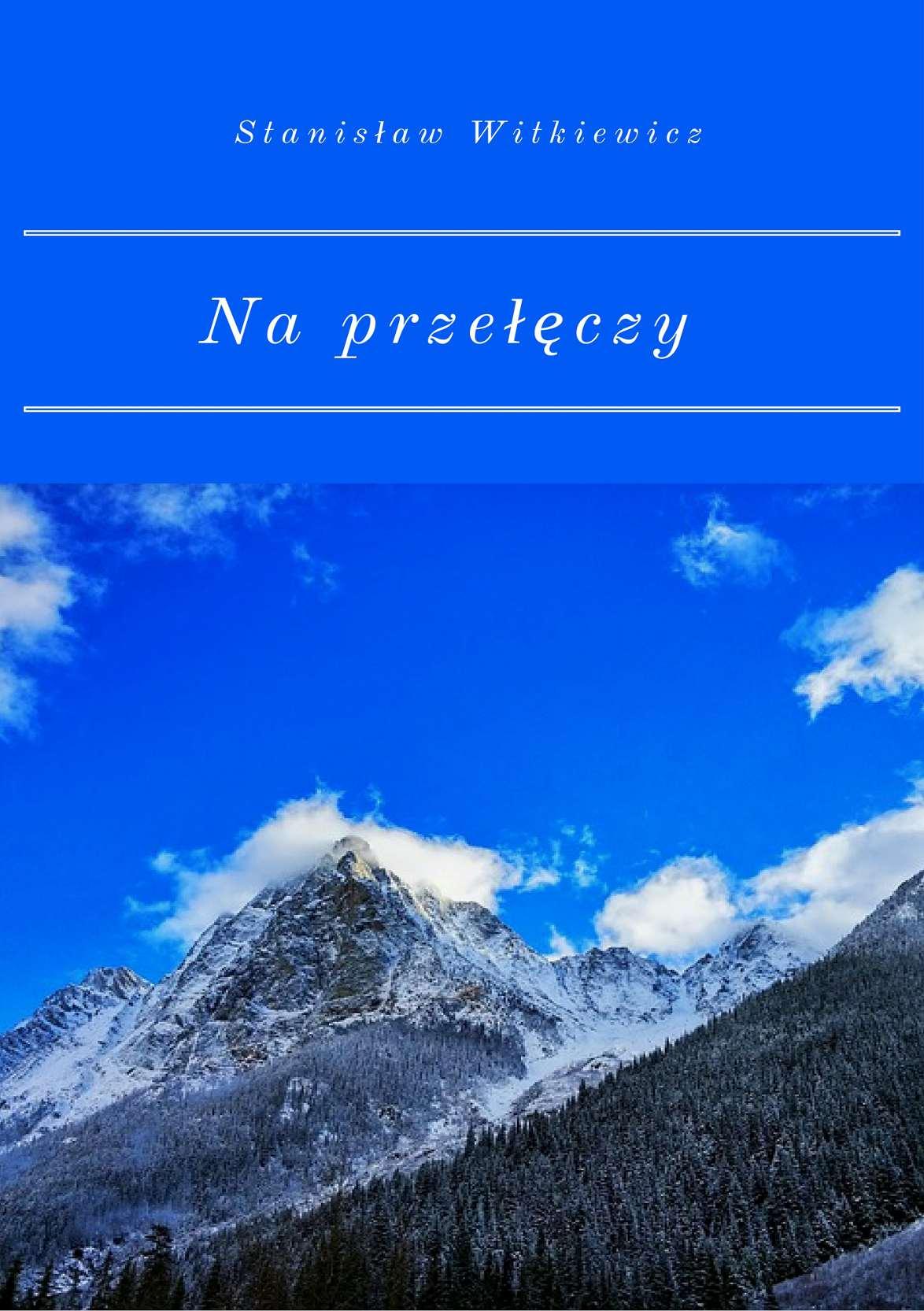 Na przełęczy - Ebook (Książka EPUB) do pobrania w formacie EPUB