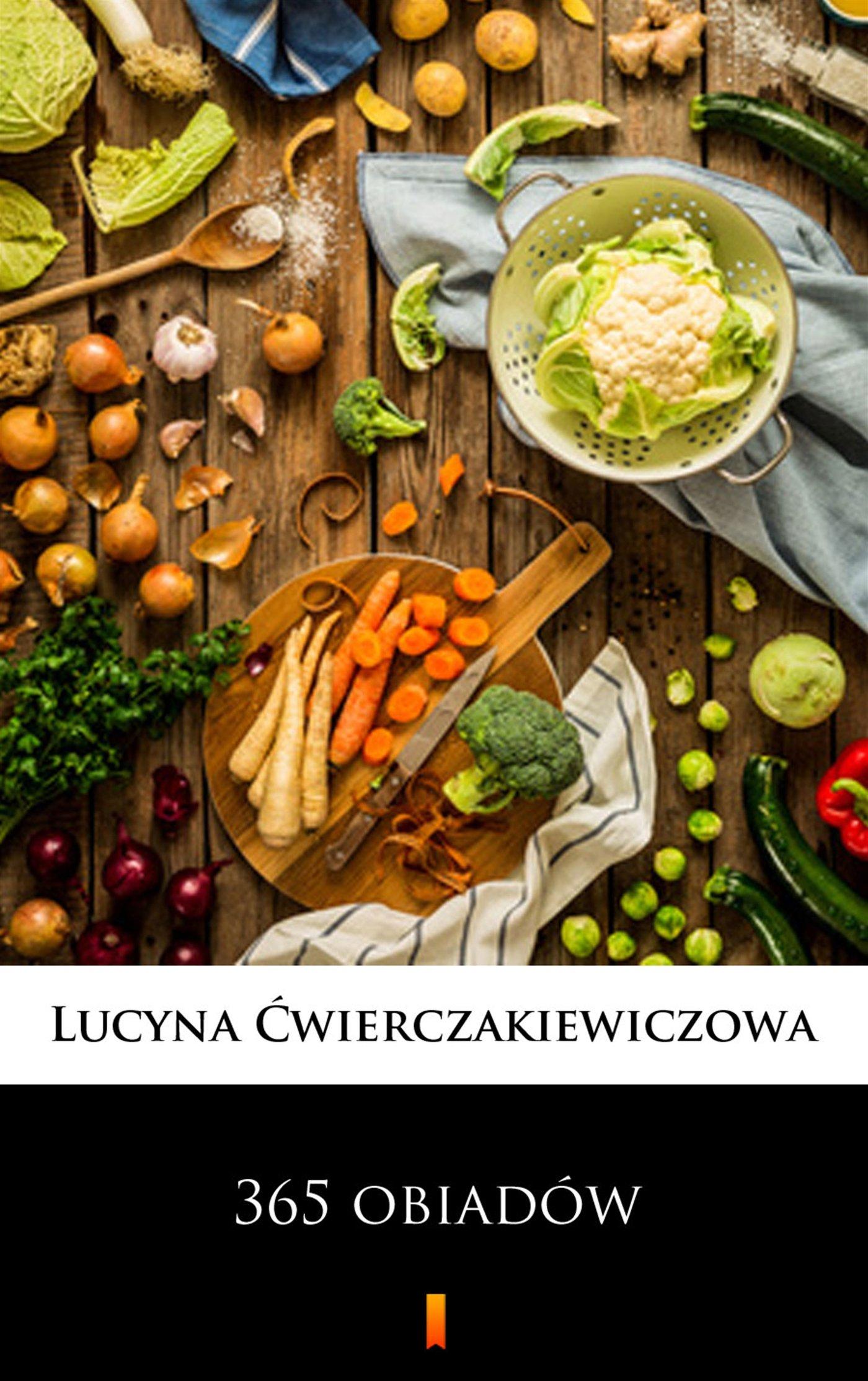 365 obiadów - Ebook (Książka EPUB) do pobrania w formacie EPUB