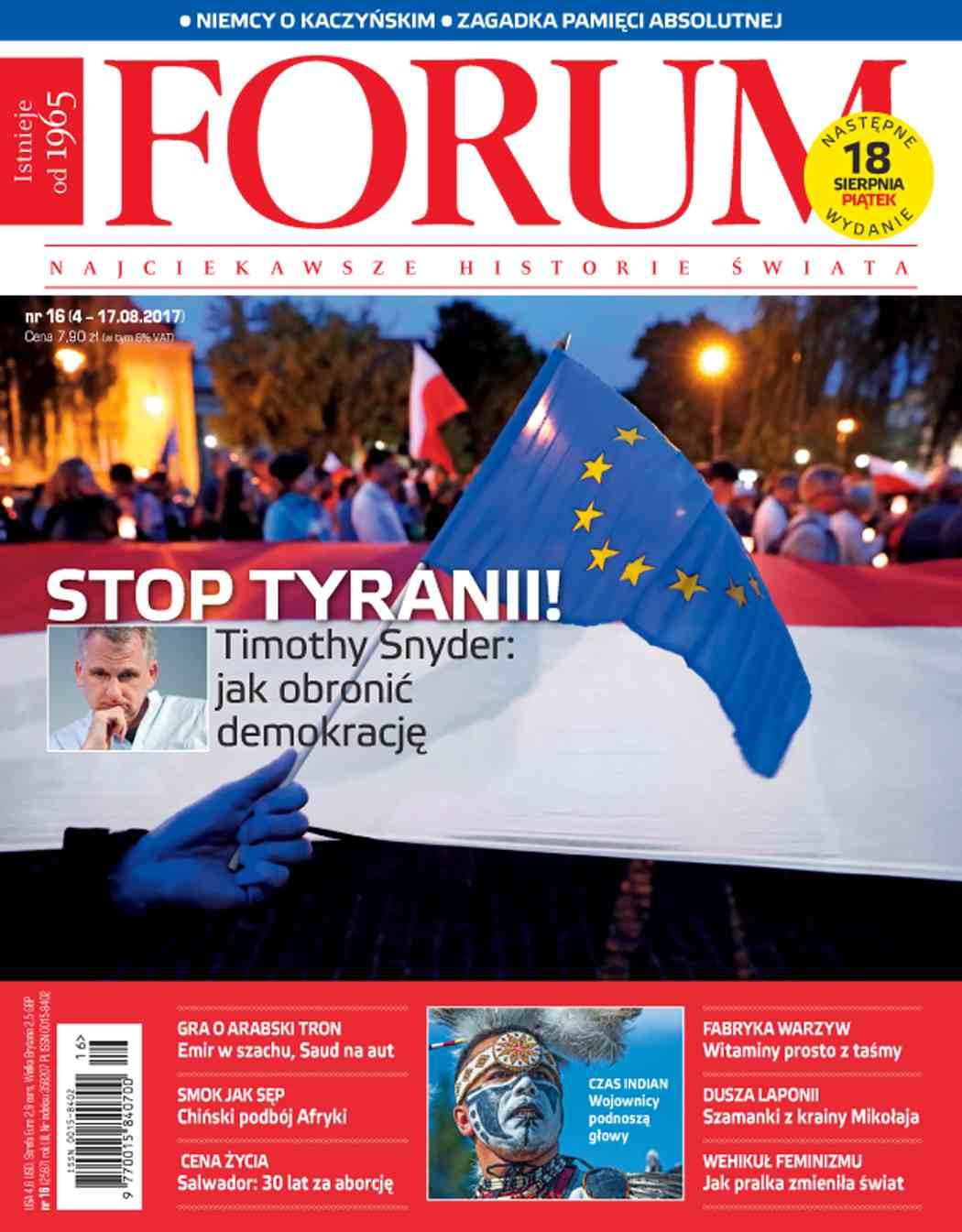 Forum nr 16/2017 - Ebook (Książka PDF) do pobrania w formacie PDF