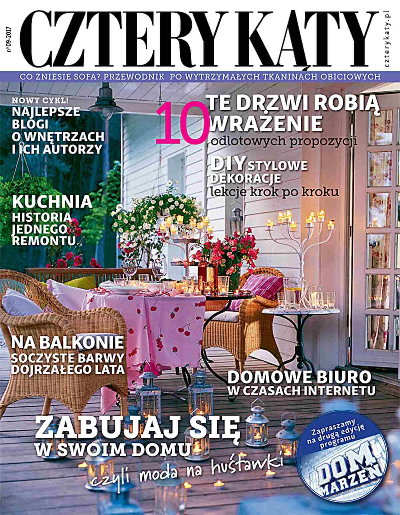 Cztery Kąty 9/2017 - Ebook (Książka PDF) do pobrania w formacie PDF
