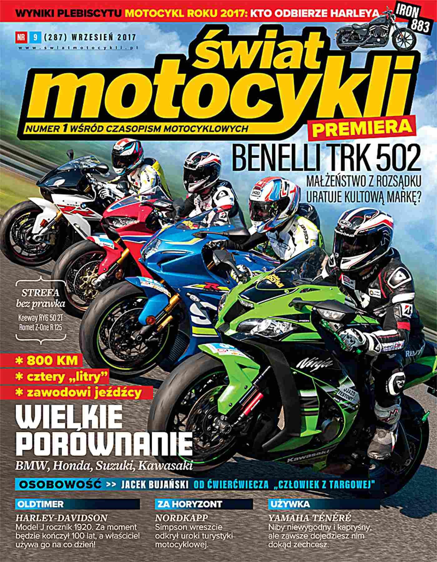 Świat Motocykli 9/2017 - Ebook (Książka PDF) do pobrania w formacie PDF