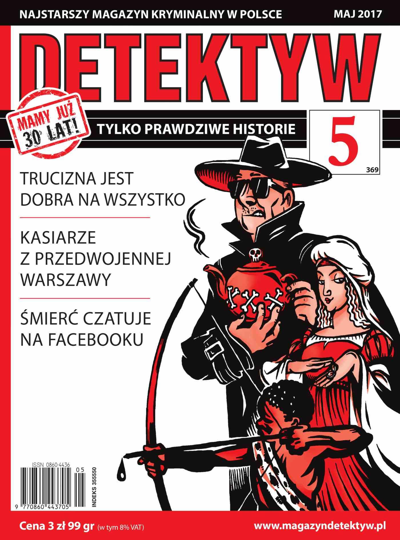 Detektyw 5/2017 - Ebook (Książka PDF) do pobrania w formacie PDF