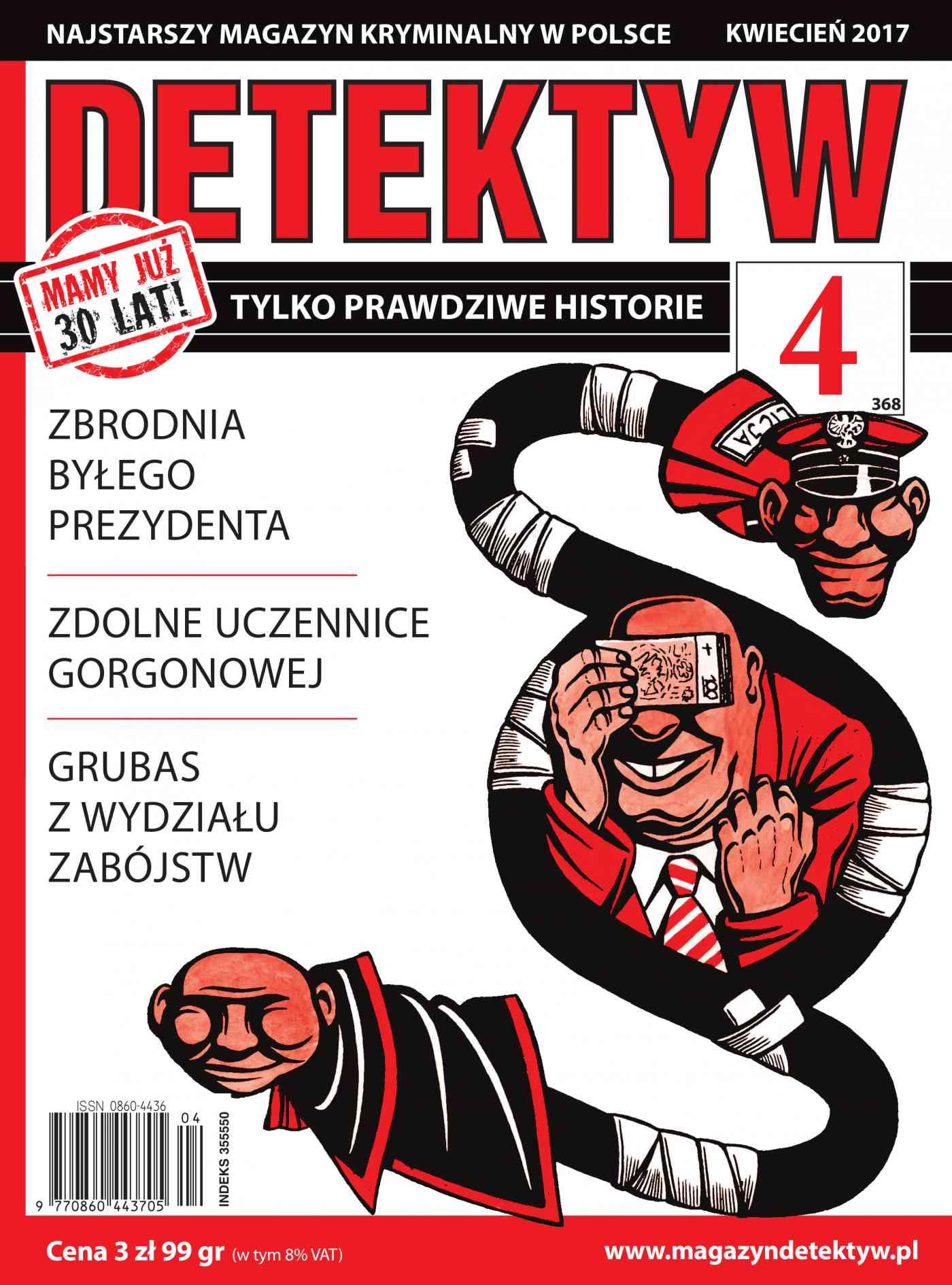 Detektyw 4/2017 - Ebook (Książka PDF) do pobrania w formacie PDF