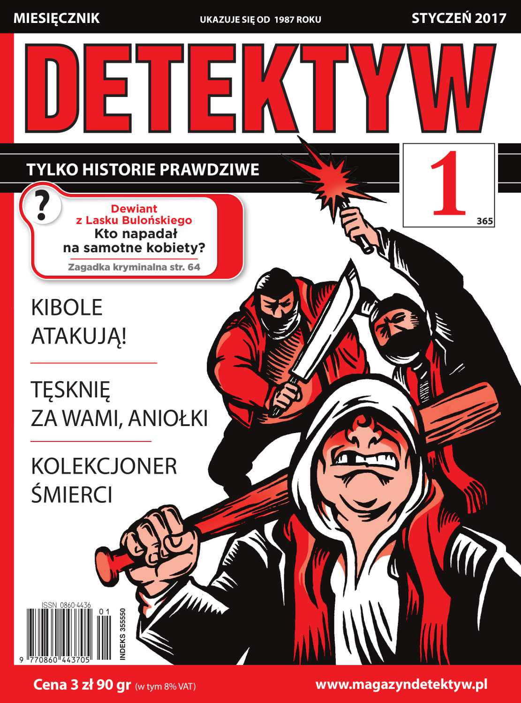 Detektyw 1/2017 - Ebook (Książka PDF) do pobrania w formacie PDF