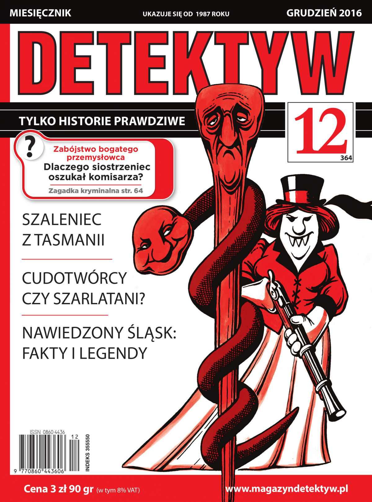 Detektyw 12/2016 - Ebook (Książka PDF) do pobrania w formacie PDF