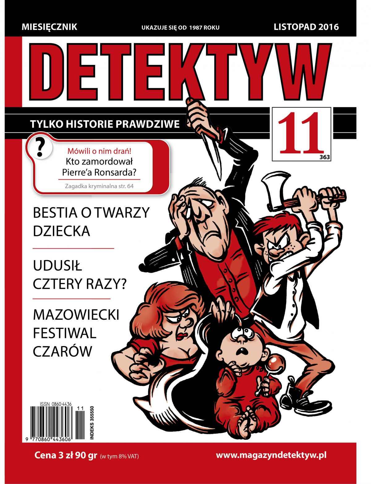 Detektyw 11/2016 - Ebook (Książka PDF) do pobrania w formacie PDF