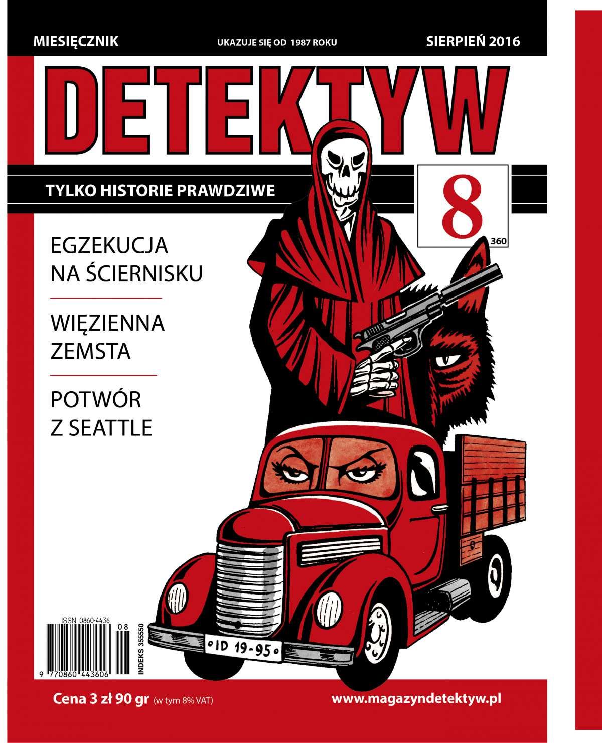 Detektyw 8/2016 - Ebook (Książka PDF) do pobrania w formacie PDF