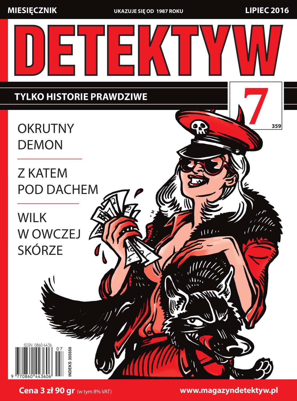Detektyw 7/2016 - Ebook (Książka PDF) do pobrania w formacie PDF