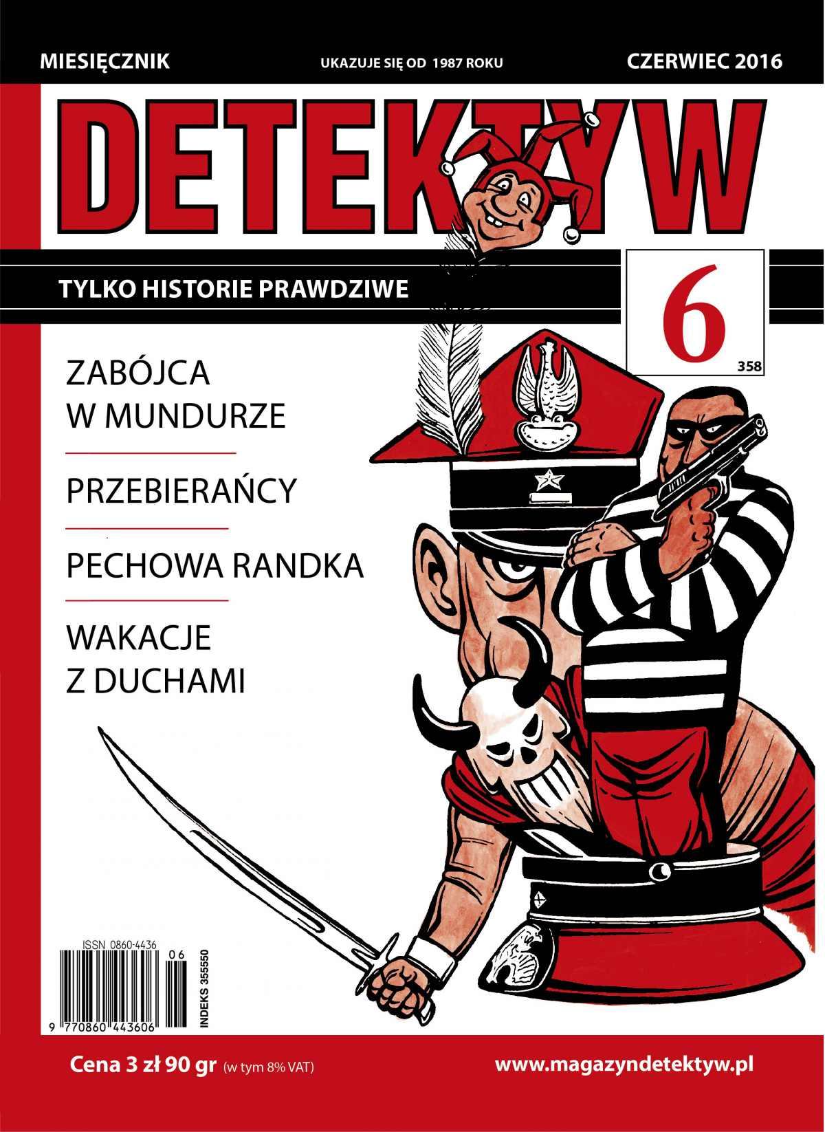 Detektyw 6/2016 - Ebook (Książka PDF) do pobrania w formacie PDF