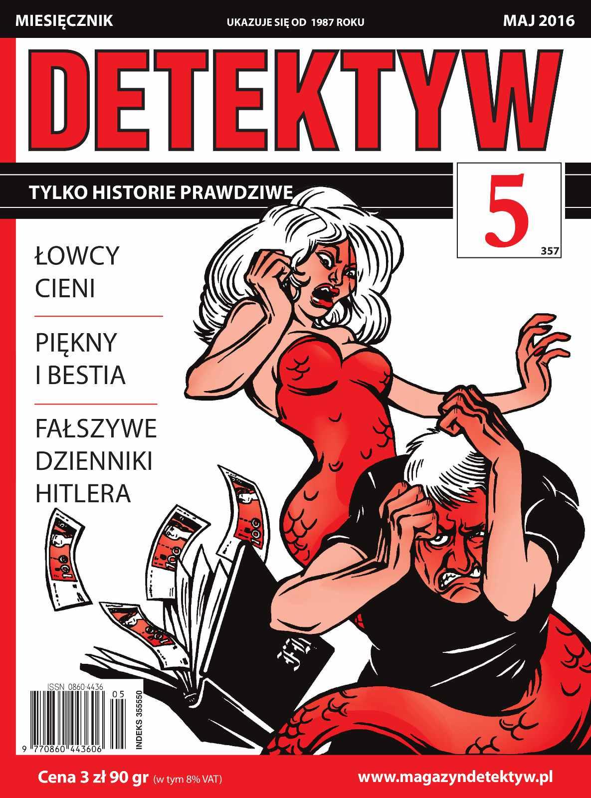 Detektyw 5/2016 - Ebook (Książka PDF) do pobrania w formacie PDF