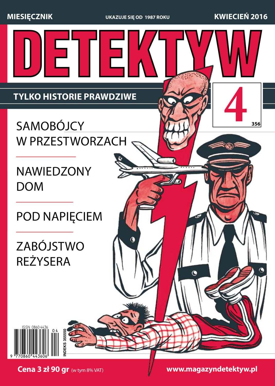 Detektyw 4/2016 - Ebook (Książka PDF) do pobrania w formacie PDF