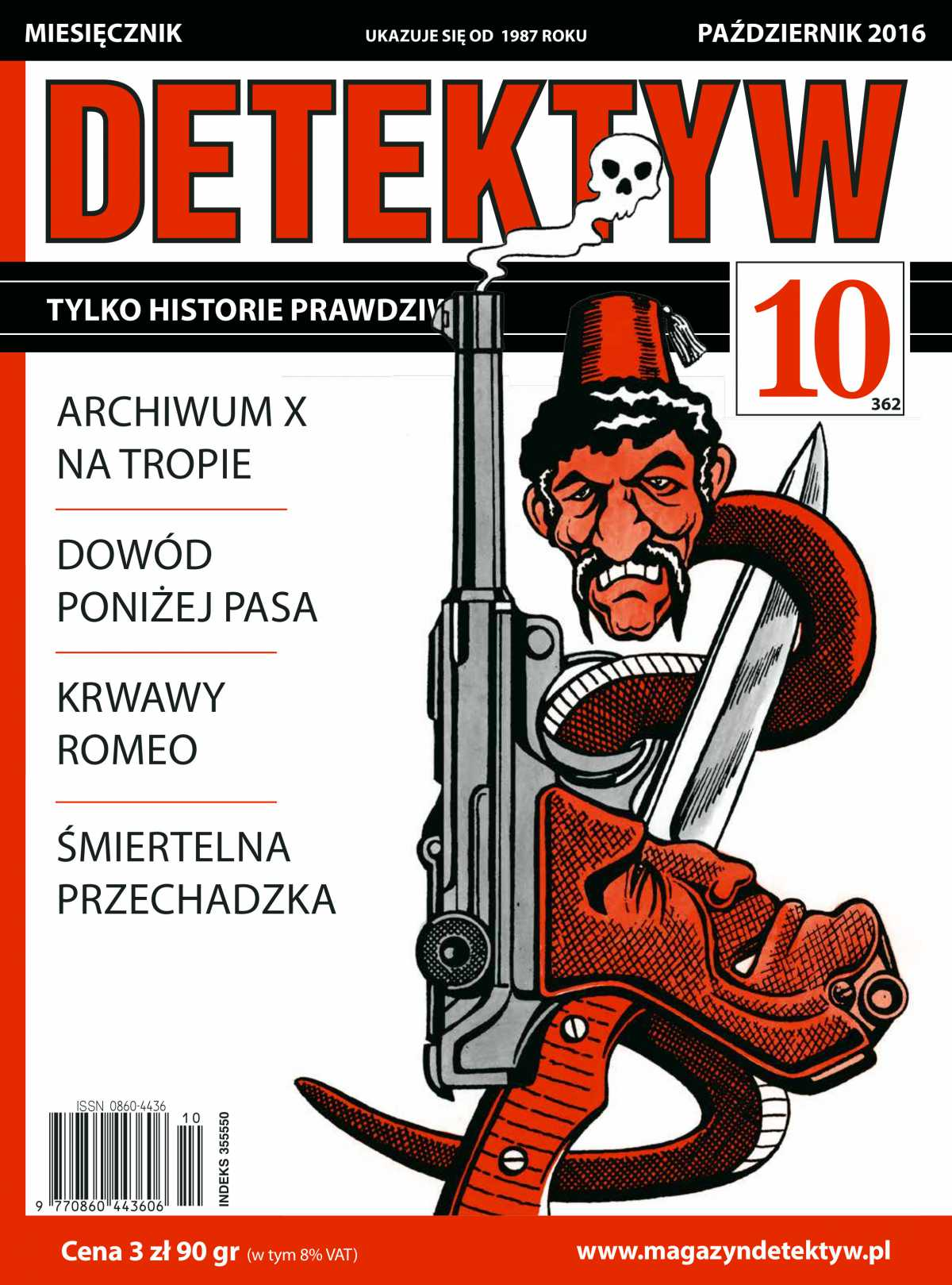 Detektyw 10/2016 - Ebook (Książka PDF) do pobrania w formacie PDF