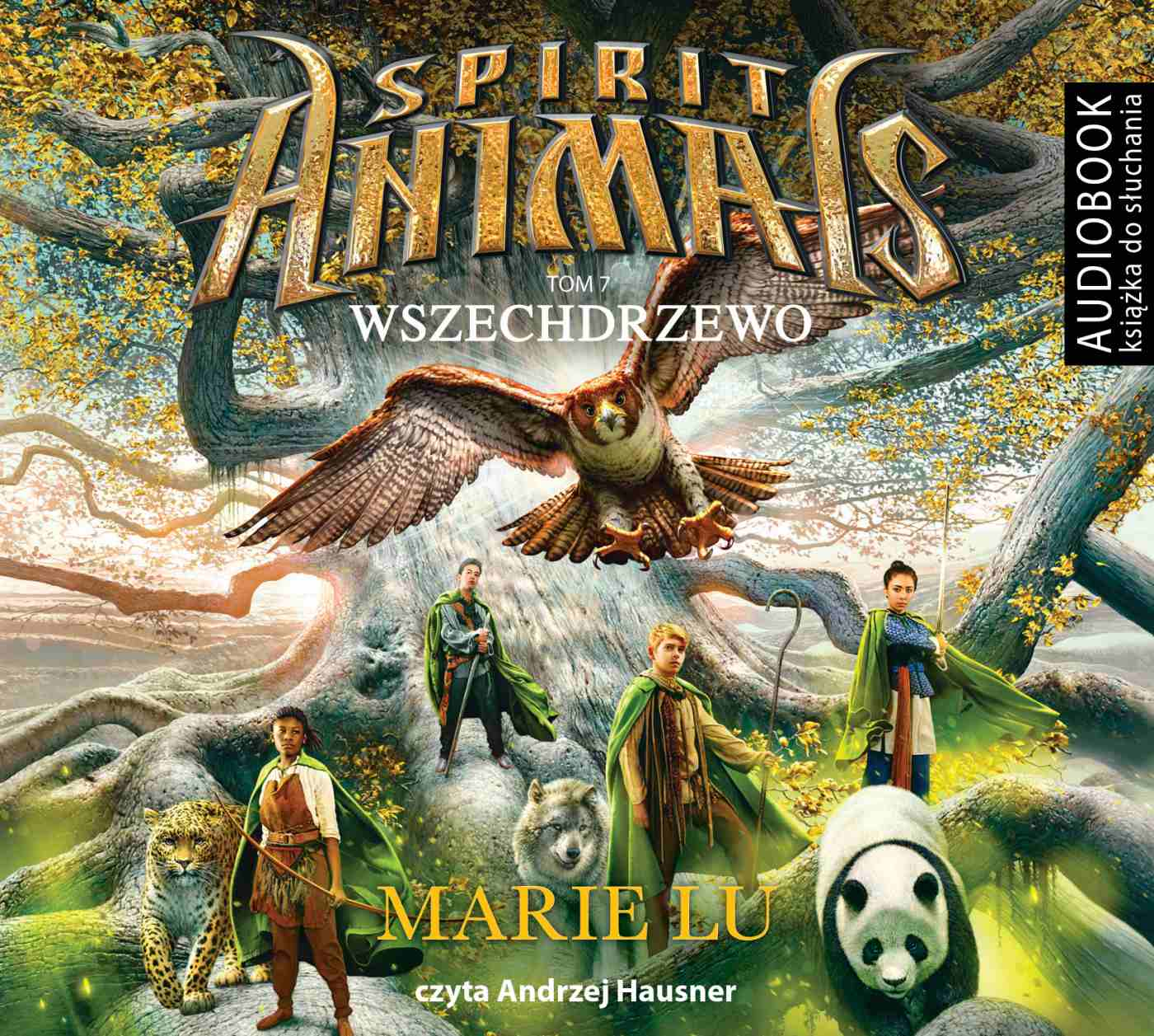 Spirit Animals. Tom 7. Wszechdrzewo - Audiobook (Książka audio MP3) do pobrania w całości w archiwum ZIP