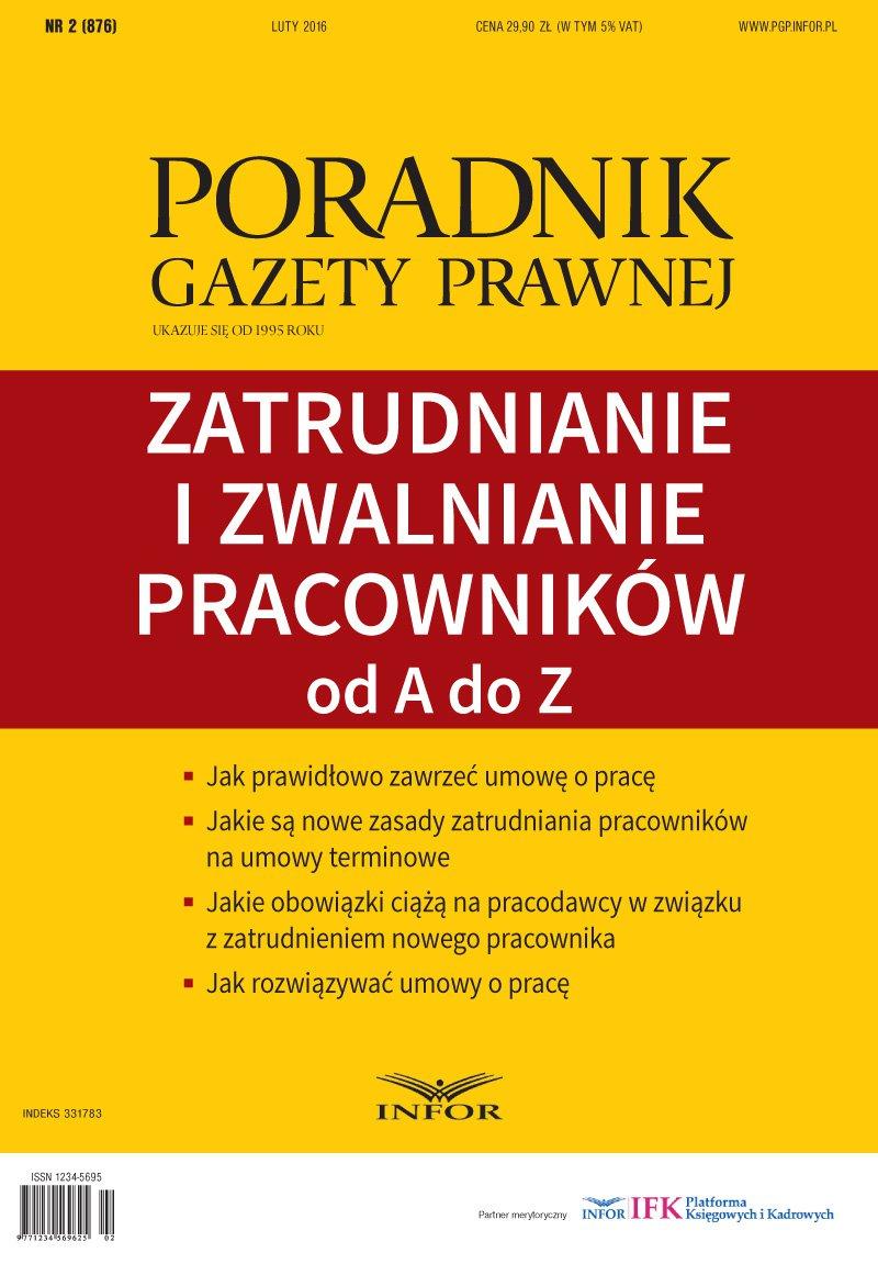Zatrudnianie i zwalnianie pracowników od A do Z - Ebook (Książka PDF) do pobrania w formacie PDF