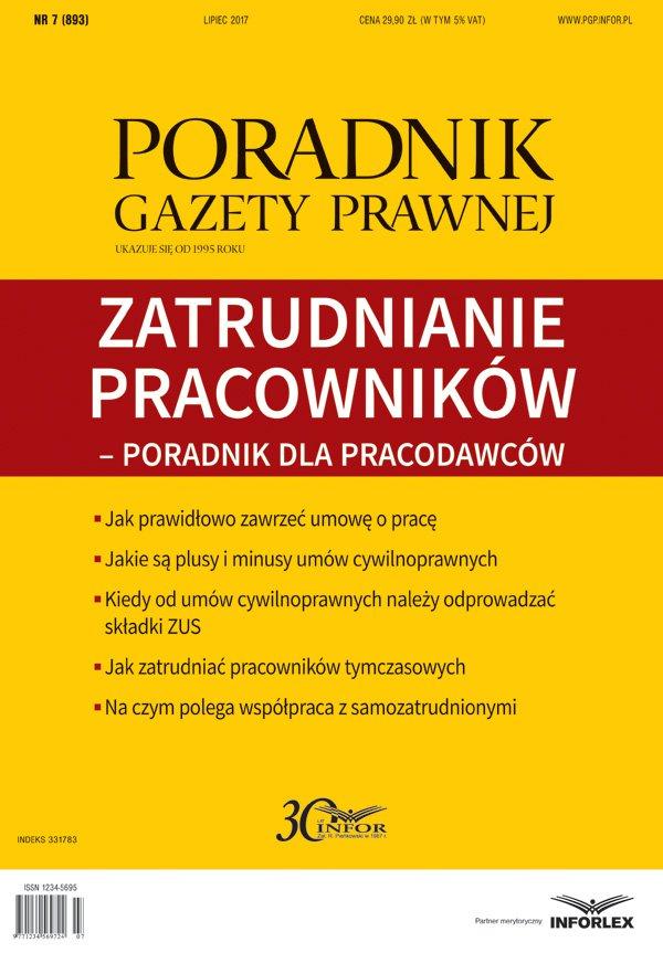 Zatrudnianie pracowników- poradnik dla pracodawców - Ebook (Książka PDF) do pobrania w formacie PDF