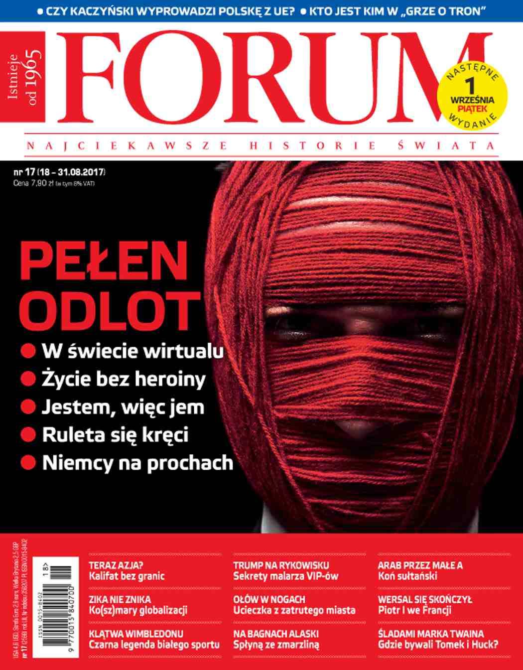 Forum nr 17/2017 - Ebook (Książka PDF) do pobrania w formacie PDF