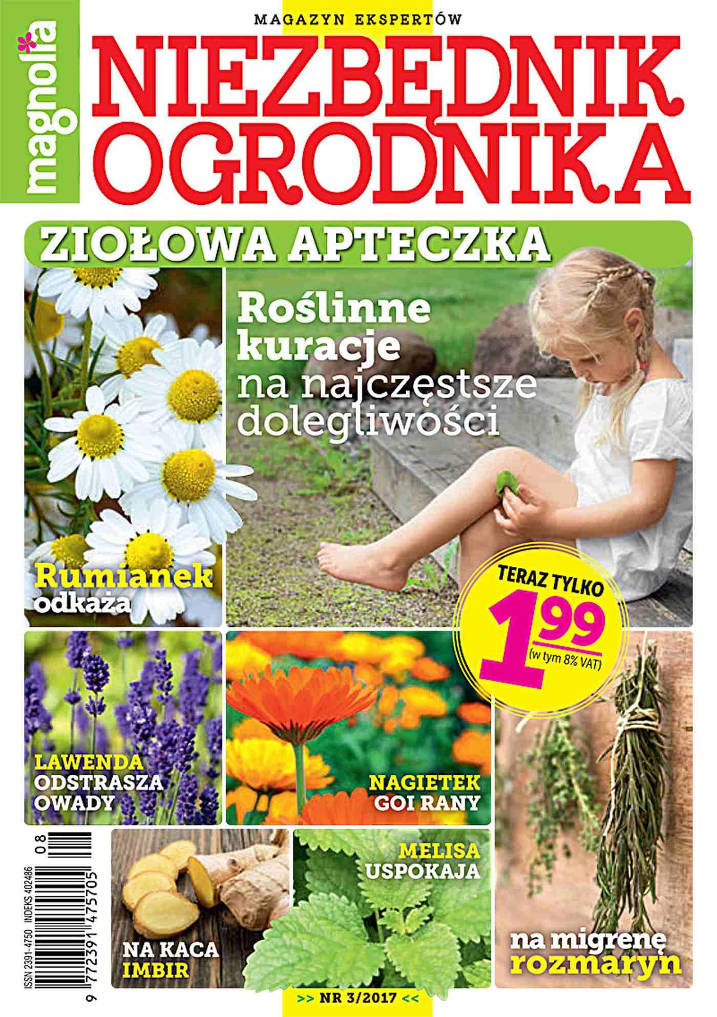 Niezbędnik Ogrodnika 3/2017 - Ebook (Książka PDF) do pobrania w formacie PDF