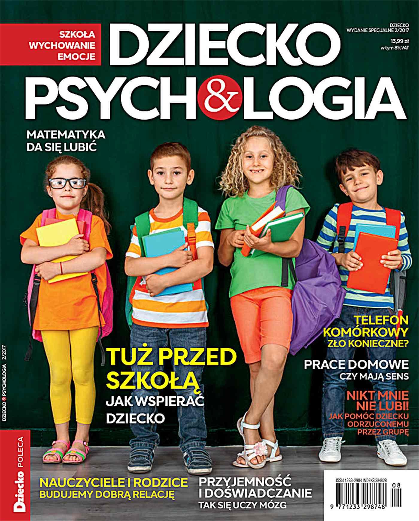 Dziecko & Psychologia. Dziecko. Wydanie Specjalne  2/2017 - Ebook (Książka PDF) do pobrania w formacie PDF