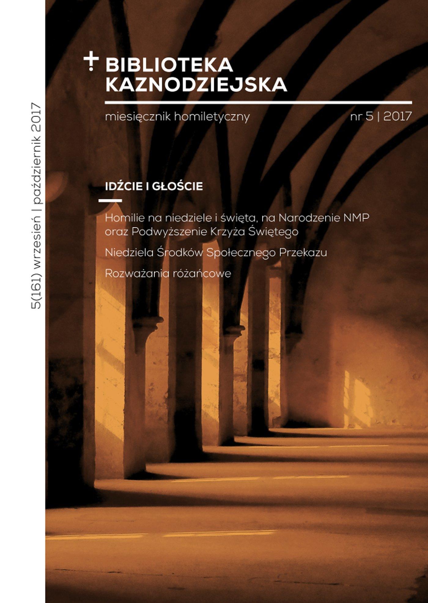 Biblioteka Kaznodziejska nr 05/2017 - Ebook (Książka na Kindle) do pobrania w formacie MOBI