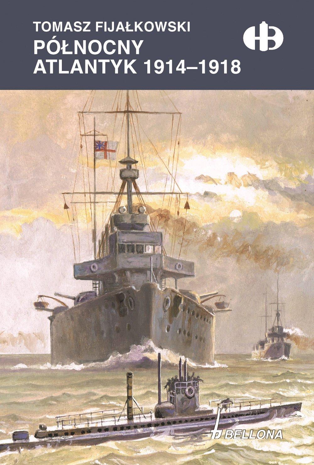 Północny Atlantyk 1914-1918 - Ebook (Książka na Kindle) do pobrania w formacie MOBI