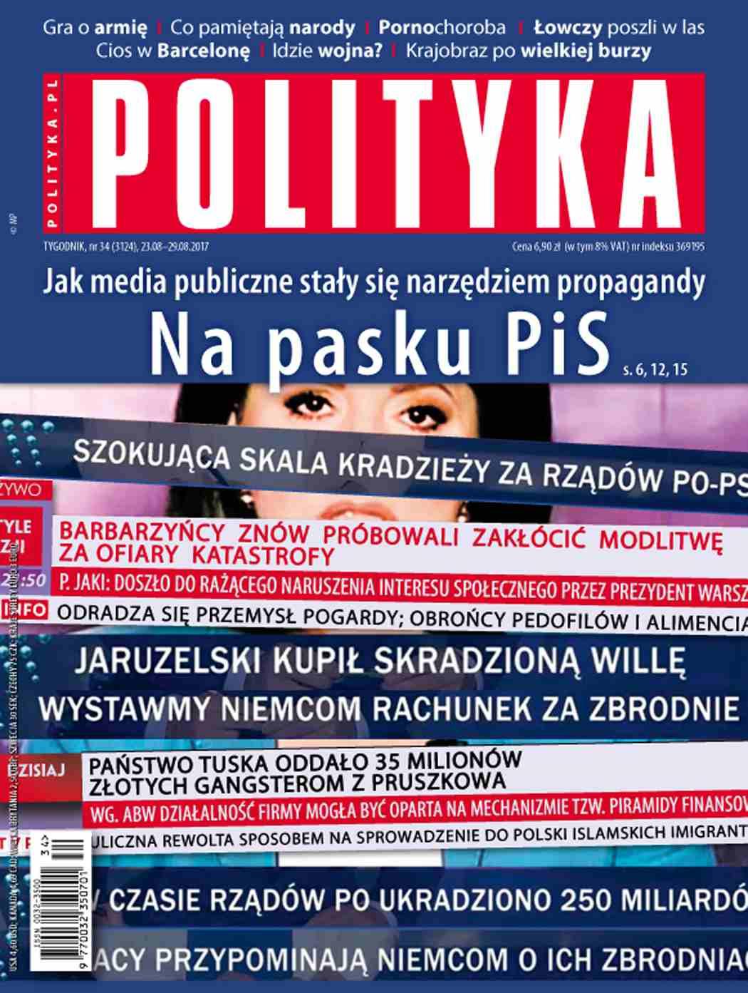 Polityka nr 34/2017 - Ebook (Książka PDF) do pobrania w formacie PDF