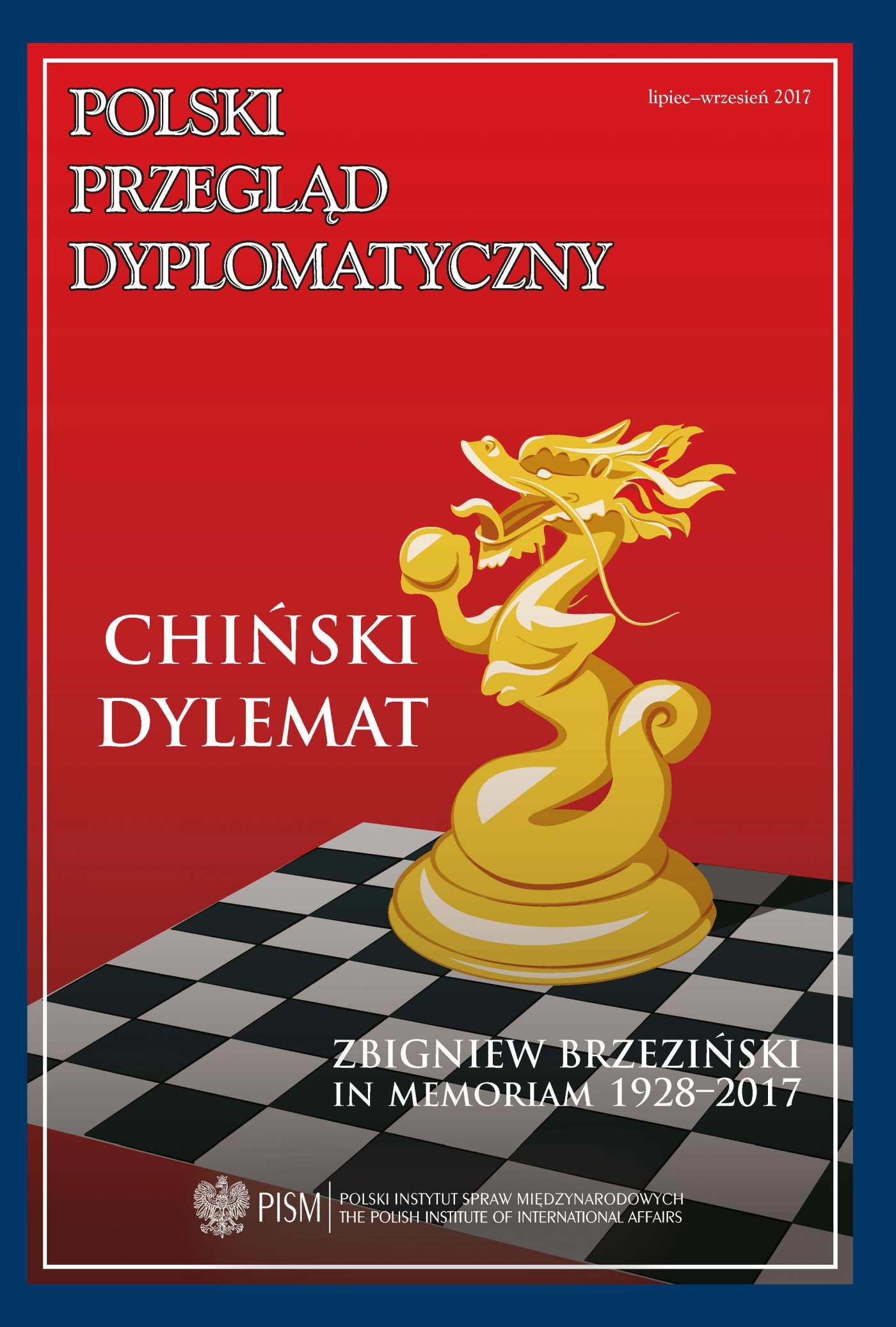 Polski Przegląd Dyplomatyczny, nr 3/ 2017 - Ebook (Książka PDF) do pobrania w formacie PDF