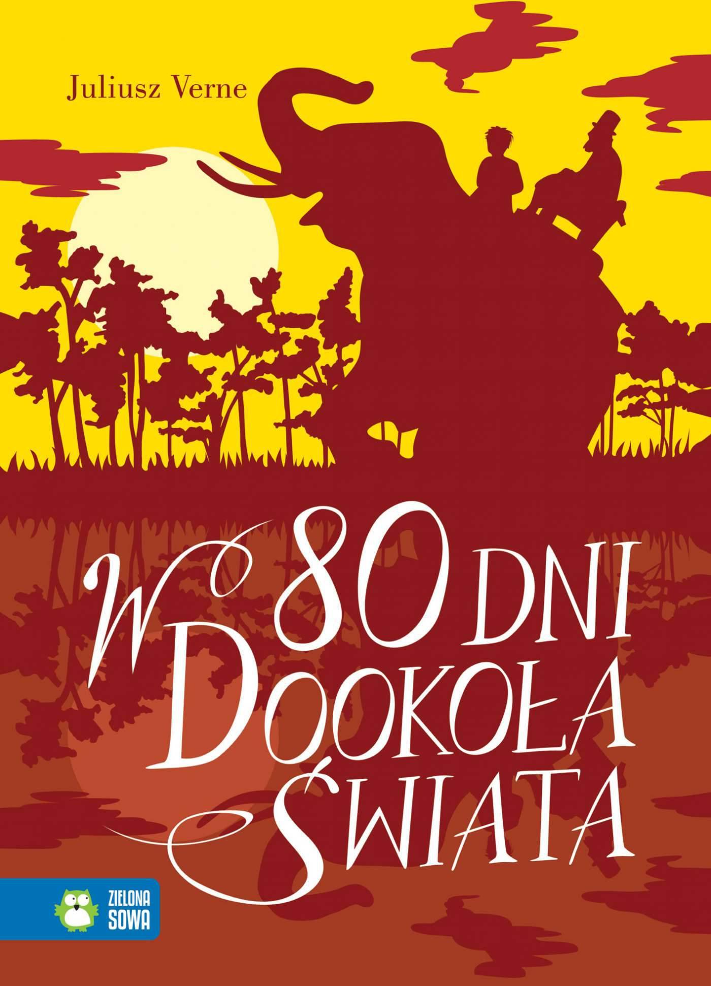 W 80 dni dookoła świata. Literatura klasyczna - Ebook (Książka na Kindle) do pobrania w formacie MOBI