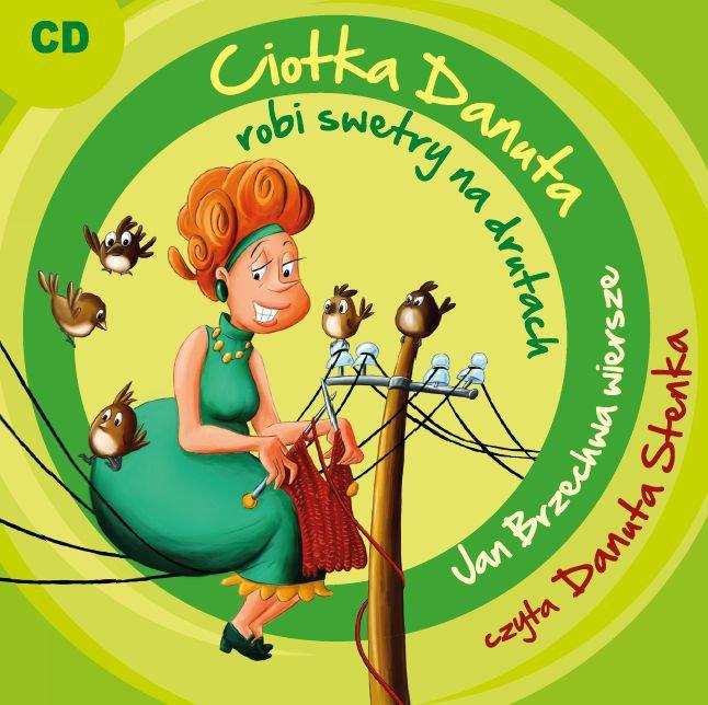 Ciotka Danuta robi swetry na drutach - Audiobook (Książka audio MP3) do pobrania w całości w archiwum ZIP