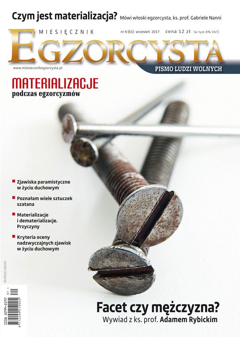 Miesięcznik Egzorcysta 61 (wrzesień 2017) - Ebook (Książka PDF) do pobrania w formacie PDF