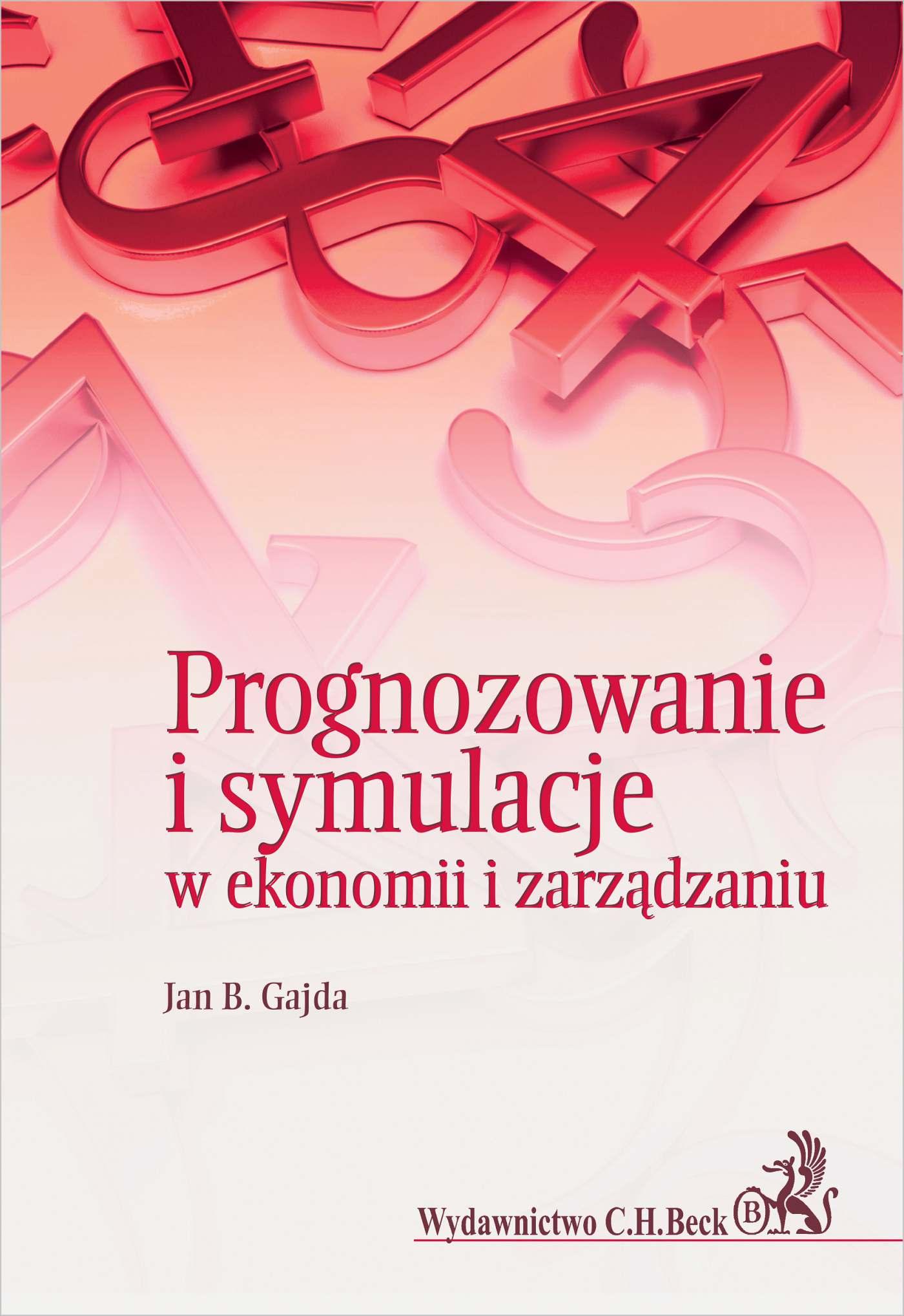 Prognozowanie i symulacje w ekonomii i zarządzaniu - Ebook (Książka PDF) do pobrania w formacie PDF