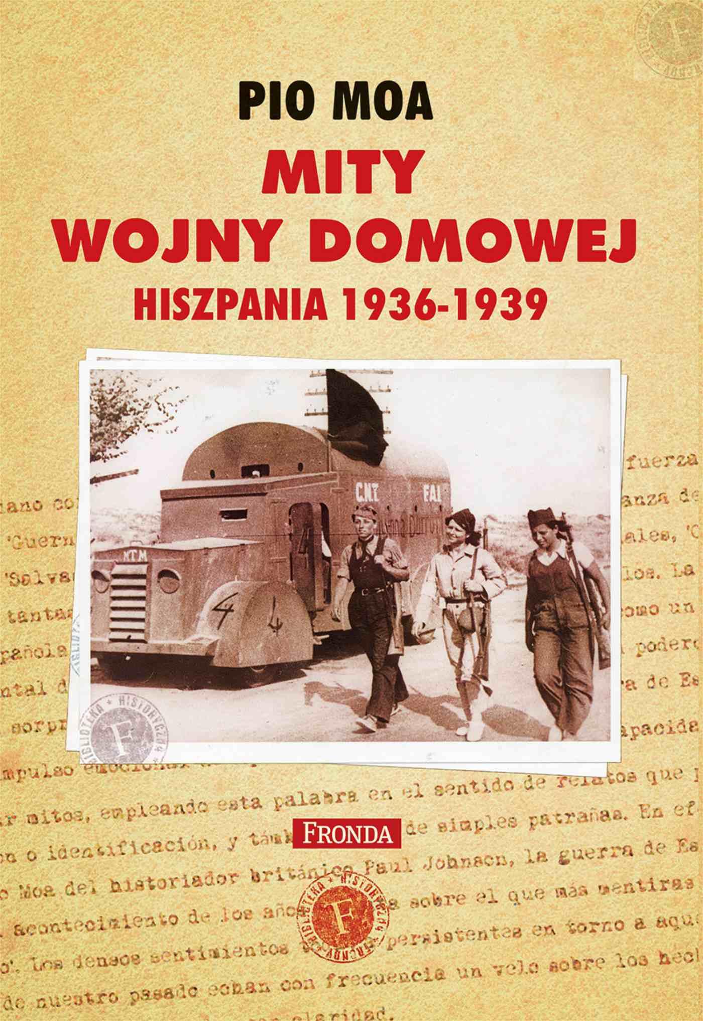 Mity Wojny domowej Hiszpania 1936-1939 - Ebook (Książka PDF) do pobrania w formacie PDF